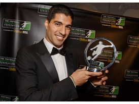 Suarez at FSF Awards