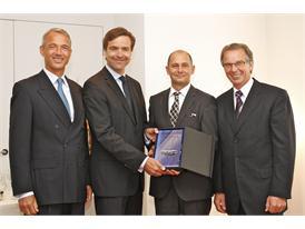 Daimler Award 2012: Lehmann, Schindewolf, Hürlimann, Entenmann