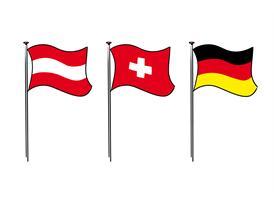 Austria, Germany, Switzerland