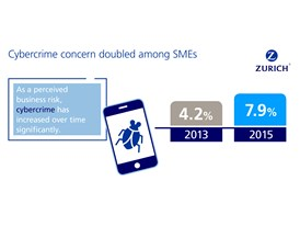 Cybercrime concern doubled among SMEs