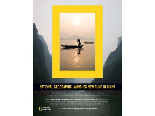 National Geographic China Conservation Brochure
