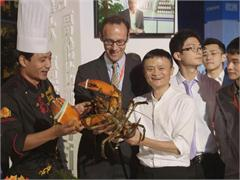Broll Handout: Fresh Food Exhibit Kicks Off 2015 Tmall 11.11 Global Shopping Festival