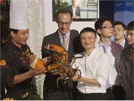 Broll Handout: 11.11.2015 Tmall Global Fresh Food Exhibition