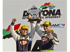 Kia Motors' U.S. Motorsports Program Scores First-Ever Podium Finish At Daytona International Speedway