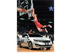 NBA Rookie Sensation Blake Griffin Soars in New Commercial for 2011 Kia Optima