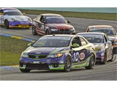 Kia Forte Koups Ready for Third Round of the GRAND-AM Continental Tire Sports Car Challenge at Barber Motorsports Park