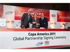 Kia Motors to Sponsor Copa America Argentina 2011