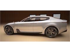 Kia to Unveil Four-Door Sports Sedan Concept at Frankfurt Motor Show