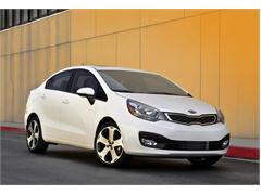 All-New 2012 Kia Rio Sedan Priced Under $13,500
