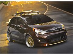 Kia Motors America and Antenna Magazine Build Hot Rio 5-Door and Forte 5-Door for Sema Show 2011