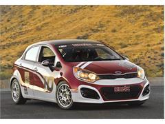 Kia Motors America Expands Motorsports Program to Showroom Stock Racing With Debut of 2012 B-Spec Rio 5-Door at SEMA Show