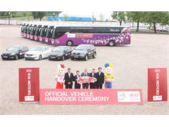Kia Motors Ensures Smooth Transportation with Fleet for UEFA EURO 2012™