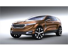Kia unveils imaginative designs with New Cross GT Concept CUV and Superman-Inspired Kia Optima at Chicago Auto Show