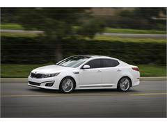 Kia introduces refreshed Optima at New York International Auto Show