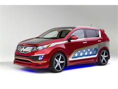 Wonder Woman-inspired Kia Sportage lassos New York