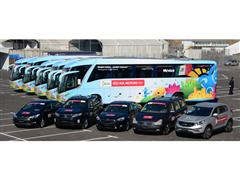 Kia Motors hands over vehicle fleet for 2014 FIFA World Cup Brazil™