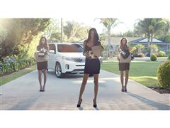 "Supermodel Adriana Lima and Kia Motors America turn curious onlookers into ""Futbol"" fanatics in series of ads celebrating the 2014 FIFA World Cup Brazil™"
