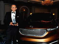 Kia's Peter Schreyer receives Lifetime Design Achievement Award