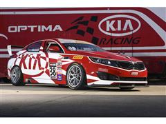 """A Day at the Races"" Theme for Kia at 2014 SEMA Show"