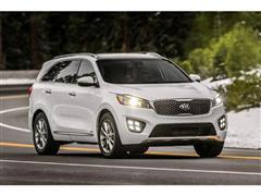 IIHS 'Top Safety Pick' rating for new Kia Sorento