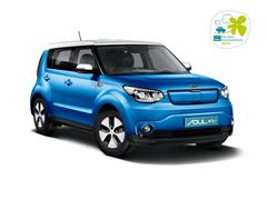 100% electric Kia Soul EV wins another award