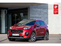 Coveted Design Awards for All-New Kia Sportage and Optima