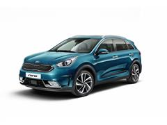 European Debut for New Kia Niro Hybrid Crossover
