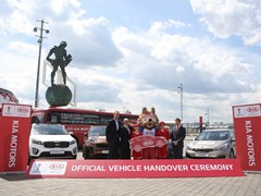 Kia to transport players and officials at FIFA  Confederations Cup 2017