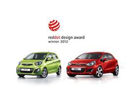 Kia red dot design award winners 2012