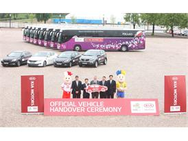 Vehicle Handover Ceremony