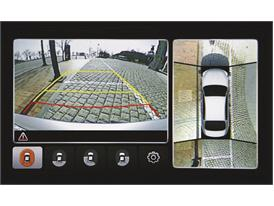 Kia Quoris Around View Monitoring System