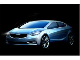 All New Cerato (Forte) Front Quarter