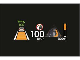 Kia Quoris Head Up Display