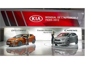 Kia at Paris Auto Show
