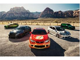 Kia Motors America and DC Entertainment assemble the Justice League vehicles for SEMA Show 2012
