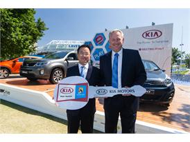 Kia Vehicle Handover Ceremony Australian Open 2013