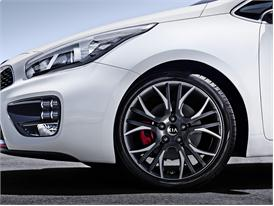 Kia pro ceed GT  (front panel detail)