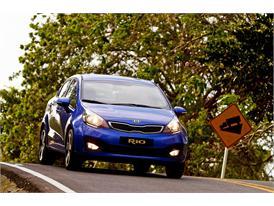 Kia Rio (Best overseas selling Kia in January 2013)