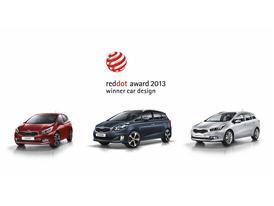 Kia red dot award 2013 Winners