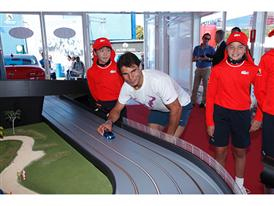 Rafael Nadal at Kia Fleet Handover Ceremony