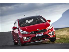 Kia pro_cee'd GT catches judges' attention as a natural Selection