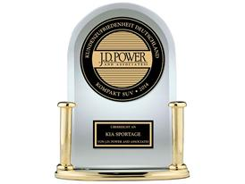 Kia Sportage 2014 JD Power VOSS Trophy