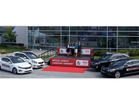Kia Vehicle Handover Ceremony