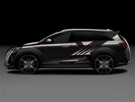 Kia X-Car (Side)