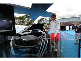Nadal and the Kia X-Car_2
