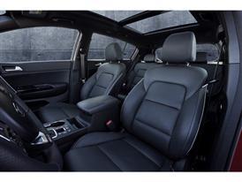 All-New Kia Sportage Seats Europe