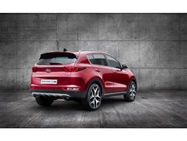 All-New Kia Sportage Rear Quarter Europe