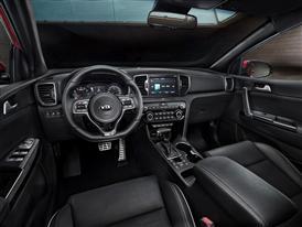 All-New Kia Sportage Dash Europe