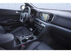 All-New Kia Sportage (interior dash)