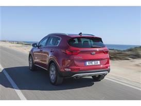All-New Kia Sportage (rear dynamic)